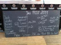 2011 Das Fest - Auf / Abbau