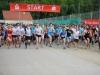 Auf gehts. Der Start zum 30. Landkreislauf erfolgte in Neukirchen pünktlich gestartet von Landrat Richard Reisinger.