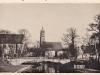 Ein Blick auf die Martinskirche und die alte Vilsbrücke in Amberg