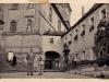 Grasser Benno (Firmpate) mit Firmling (Meier Hans) vor der Mariahilfbergkirche